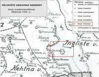 Harjumaa kaart, 1926. a.